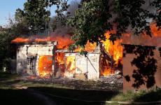 Серьезный пожар в Сурске: в огне погибла собака со щенками