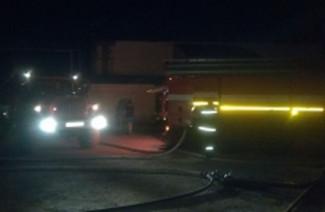 В Пензе на улице Рябова жуткий пожар тушили 33 человека