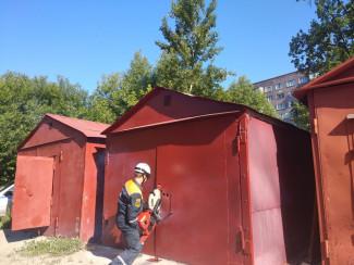 В Пензе в одном из гаражей на улице Ладожской нашли труп мужчины