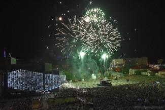 На салют в честь Дня города приезжали первые лица Пензы