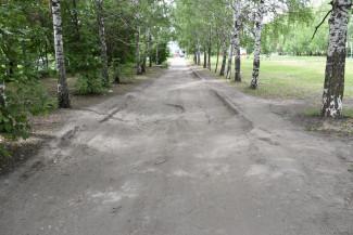 В Пензе будут благоустроены подъездные дорожки к детском саду на Ладожской