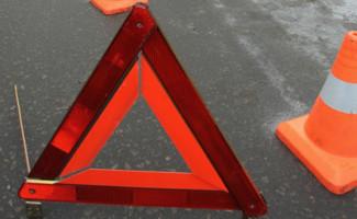 На полевой дороге в Пензенской области опрокинулся мотоцикл