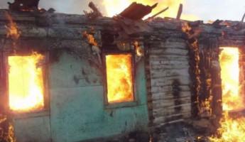 Появились жуткие фото с места смертельного пожара в Пензенской области