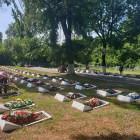 В Пензе на Митрофаньевском кладбище привели в порядок могилы солдат