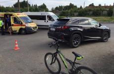 В Пензе водитель дорогой иномарки сбил ребенка-велосипедиста