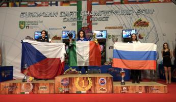 Призером Первенства Европы по дартсу стала спортсменка из Пензенской области