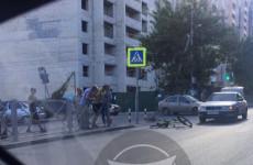 В Пензе под колесами машины оказался еще один велосипедист