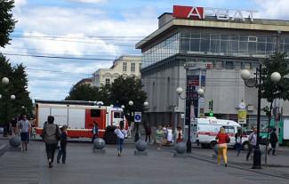 В Пензе к ТЦ «Арбат» стянулись машины экстренных служб