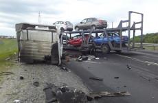 Обнародованы страшные фото с места смертельной аварии под Кузнецком