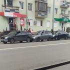 В центре Пензы произошла массовая авария