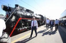 На Лермонтовский праздник в Тарханы пензенцев и гостей отвезли на ретро-поезде