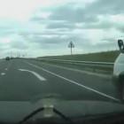 На трассе в Пензенской области девочка бросилась под колеса машины. ВИДЕО