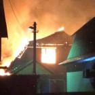 В Пензе от удара молнии вспыхнул жилой дом