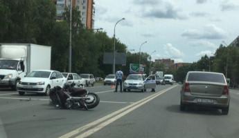 На проспекте Победы в Пензе сбили мотоциклиста