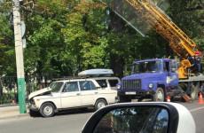 В Пензе попал в аварию 86-летний пенсионер