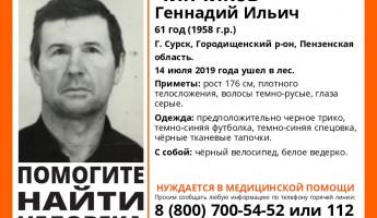 В лесах Пензенской области исчез 61-летний Геннадий Чипчиков