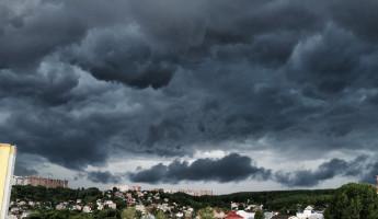 Разгул стихии в Пензе: горожане ждут апокалипсиса