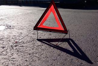В Мокшане Пензенской области мотоцикл стокнулся с легковушкой, есть пострадавшие