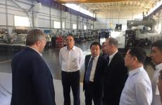 «СтанкоМашСтрой» удивила делегацию из КНР пензенским мороженым