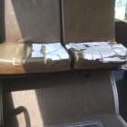 «Нанотехнологии в действии». В автобусе Пензы порванные сиденья заклеивают бумагой