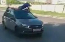 В Пензе оштрафовали водителя «Яндекс.Такси», прокатившего мужчину на крыше