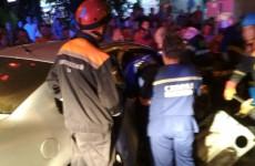 Пензячку зажало в машине в жестком ДТП в Арбеково