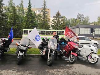 В Заречный приехал мотопробег «12 стульев»