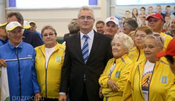 Пензенский губернатор открыл VI Спартакиаду пенсионеров