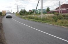 Под Пензой отремонтировали дорогу регионального значения