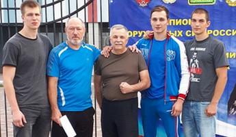 Пензенцы стали призерами Чемпионата Вооруженных сил РФ по боксу