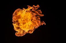 Жители Кузнецка Пензенской области сообщают о серьезном пожаре