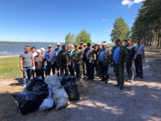 В Пензенской области очистили 80 километров речных берегов