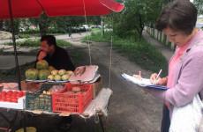 В Пензе наказали за торговлю колбасой и арбузами на трассе