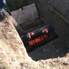 На Московской мужчина провалился под землю