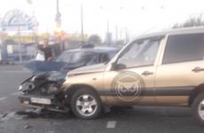 Серьезная авария в Пензе: в районе Гидростроя разбились две машины