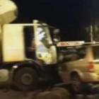 В пензенском микрорайоне ГПЗ-24 столкнулись грузовик и внедорожник