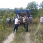 Жители Пензенского района очистили лес от мусора
