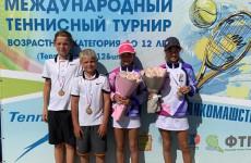 Пензенцы стали одними из победителей теннисного турнира Junior Penza Cup