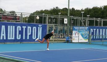 В Пензе стартовал финальный матч международного теннисного турнира