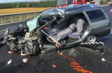Появились жуткие фото с места аварии в Пензенской области