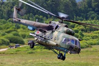В соседнем с Пензенской областью регионе разбился военный вертолет
