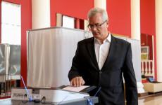 Иван Белозерцев одним из первых проголосовал на выборах