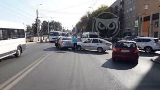 ДТП в центре Пензы спровоцировало серьезную пробку