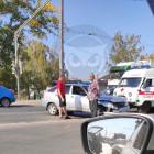 В пензенской Терновке легковушка попала в жесткую аварию