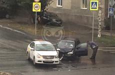 В Пензе автомобиль «Яндекс.Такси» стал участником очередной аварии