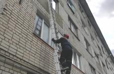 В Пензе маленький ребенок попал в «квартирный плен»