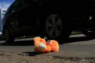 В Пензе автоледи на иномарке сбила маленькую девочку