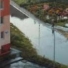 «Дорога вышла из берегов». После дождя Пенза превратилась в Венецию