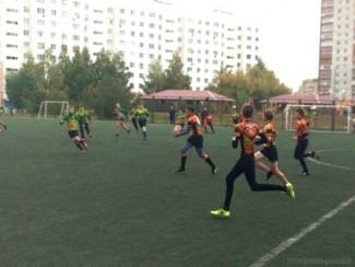 Юные пензенские регбисты борются за победу в первенстве города
