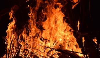 Жуткий пожар в пензенском Арбекове унес жизнь мужчины